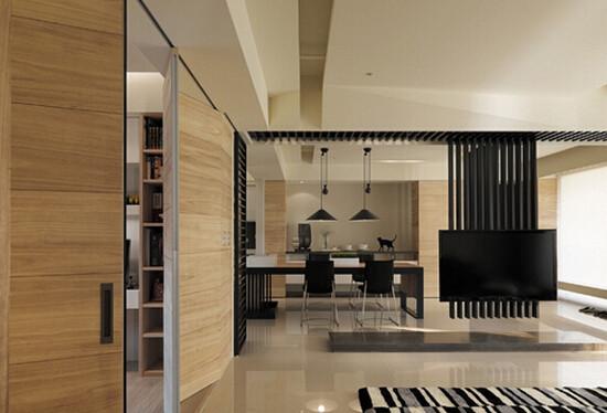 南京装饰公司:客厅背景墙新颖设计