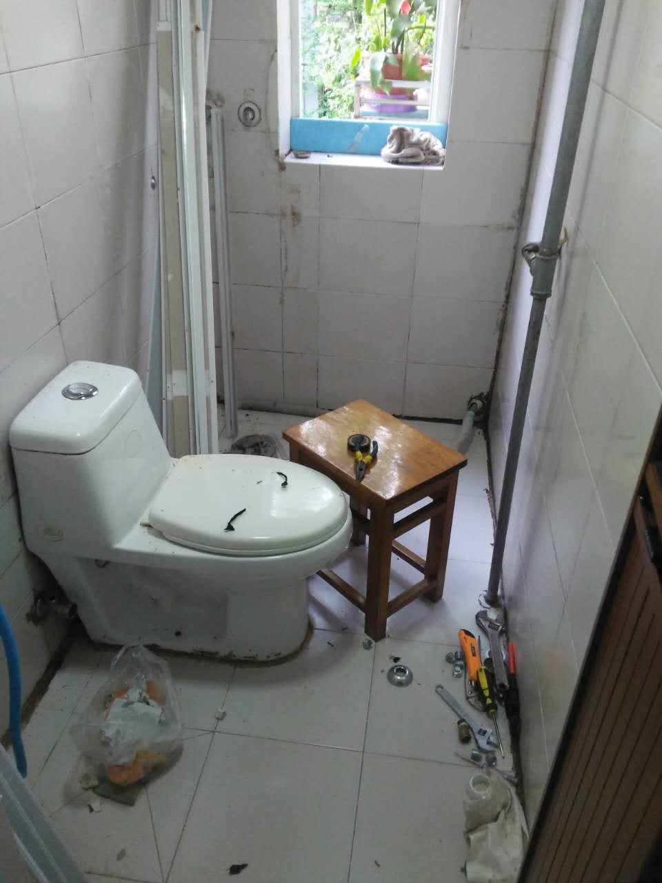 二条巷卫生间改造